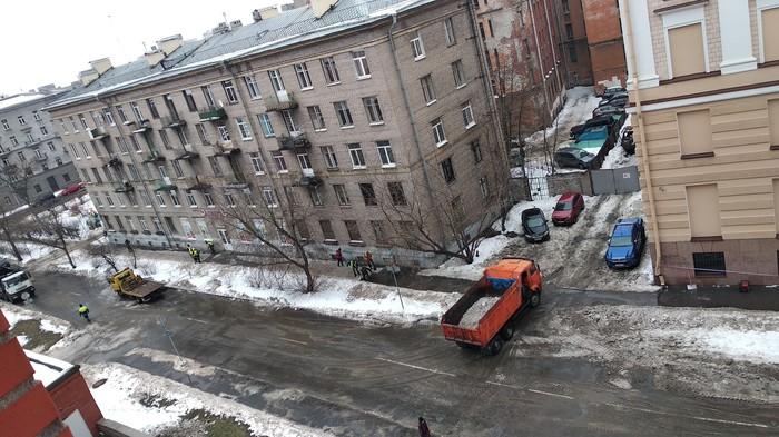 Так бы сразу ЖКХ, Уборка снега, Санкт-Петербург, Накипело