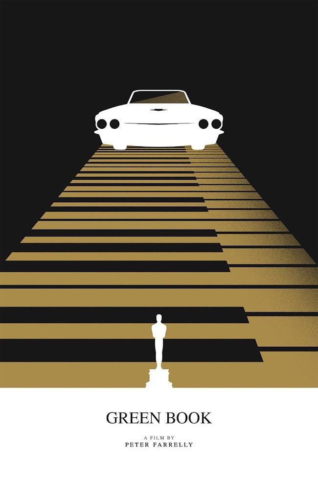 Минималистичные постеры номинантов на «Оскар» Фильмы, Оскар, Постер, Длиннопост