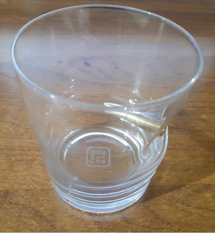 Этот стакан спас мне жизнь! Творчество, Концепт, Подарок, Смешное, Длиннопост