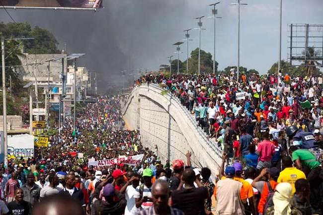 Неправильные протесты в правильной капиталистической стране Звериный оскал капитализма, Ложь, Гаити, Социализм, Коммунизм, США, Венесуэла, Длиннопост