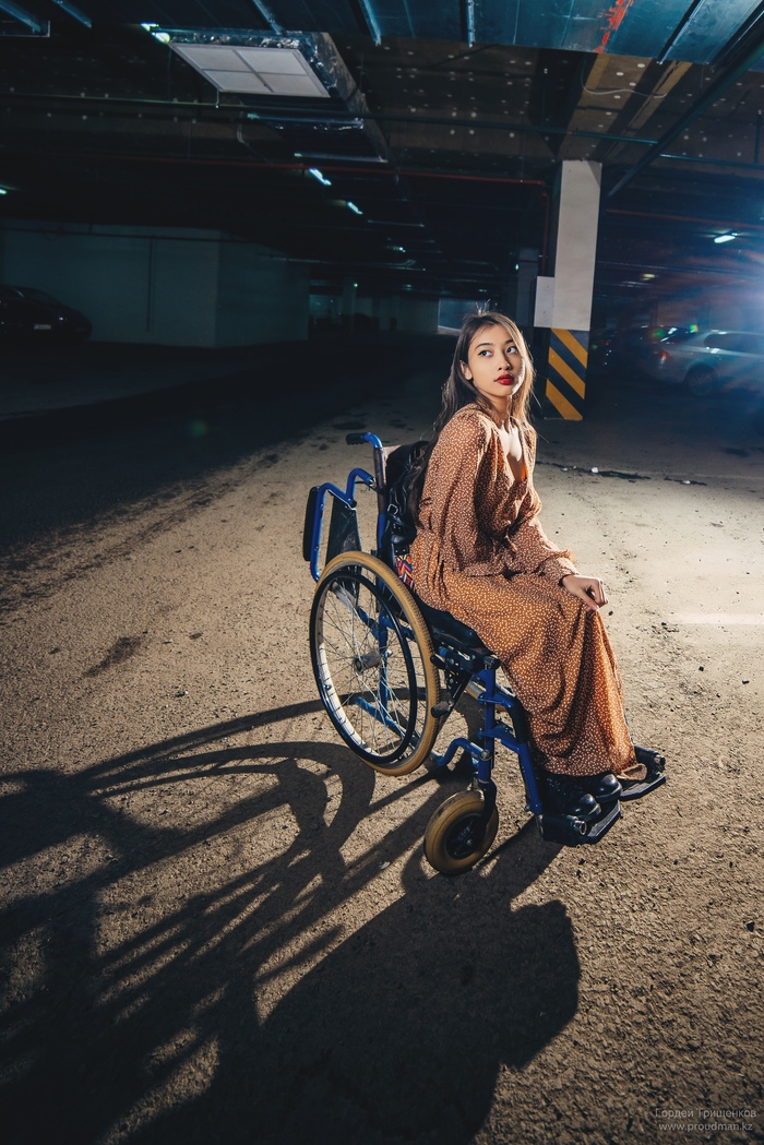 Наличие коляски не повод не устроить себе фотосессию Инвалид, Коляска, Красивая девушка, Фотография, Nikon, Длиннопост