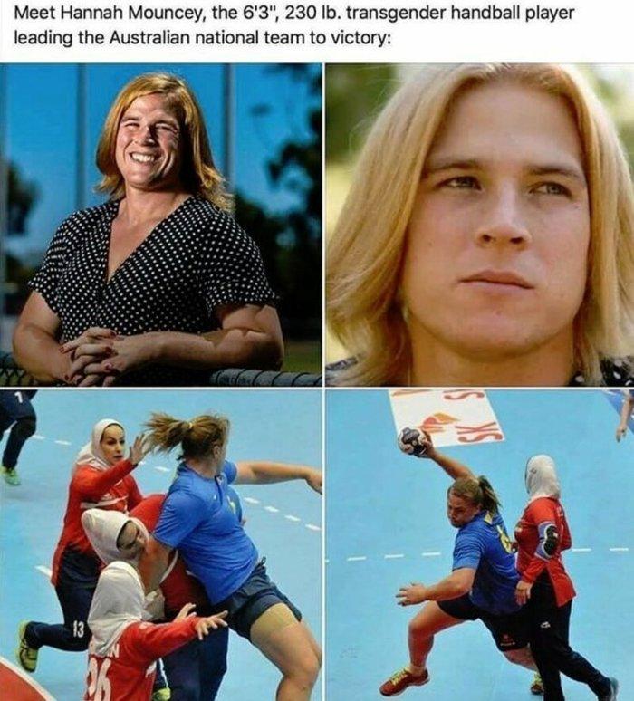 Трансгендерное нашествие в большой спорт Спорт, Трансгендеры, Бред, Длиннопост