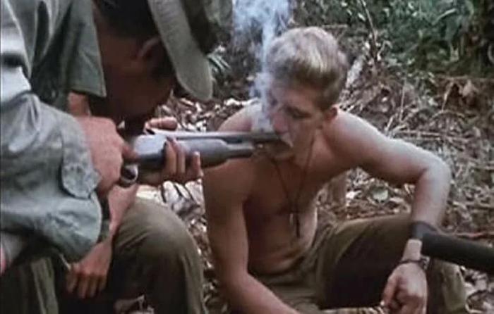 Неуставное использование дробовика, Вьетнам, 1968 Война во Вьетнаме, Армия США, Нет наркотикам!, Разложение армии, Видео, Длиннопост