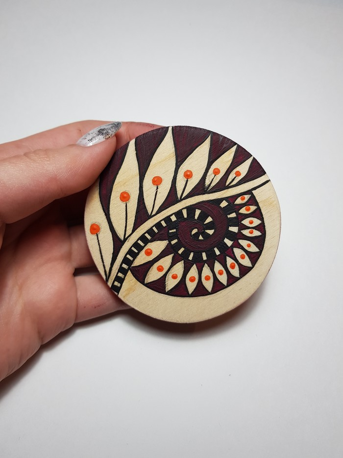 Первая работа Роспись по дереву, Геометрические формы, Геометрия, Роспись, Искусство, Дизайн, Роспись художественная, Длиннопост