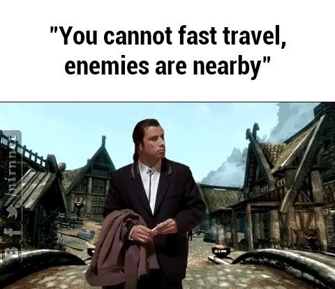 Без затратное быстрое перемещение - это плохо, и что с этим нужно сделать. Fast Travel, Игры, Компьютерные игры, Текст, Аналитика, Разбор, Гифка, Длиннопост