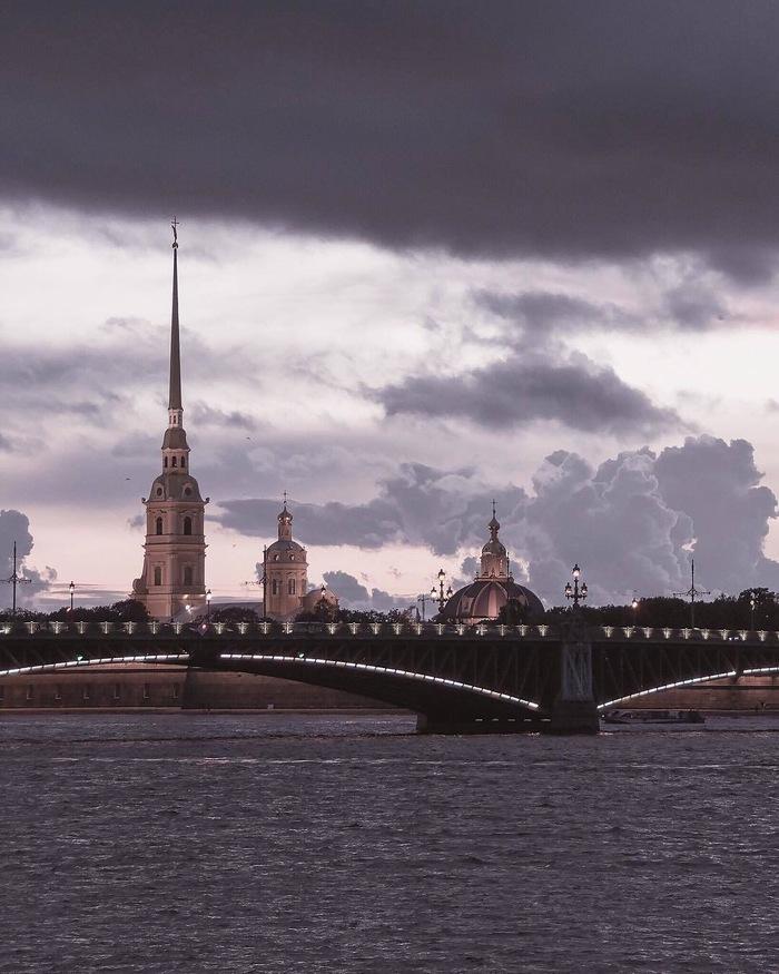 Питер в пастельных тонах Санкт-Петербург, Пастель, Длиннопост