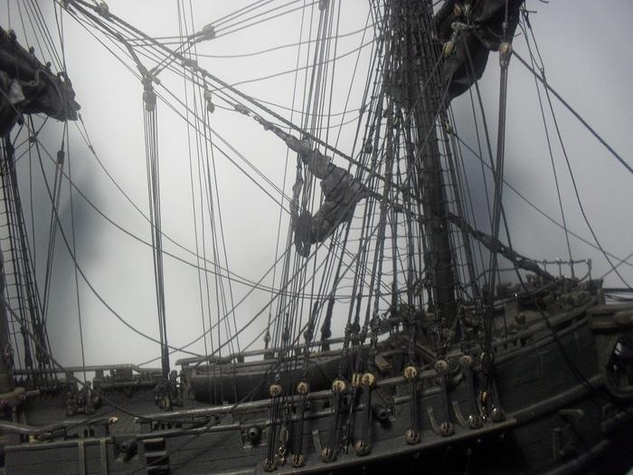 """Как строилась модель """"Черная жемчужина (в тайнике Дейви Джонса)"""". Часть 6 Черная жемчужина, Пираты карибского моря, Ручная работа, Модели из дерева, Стендовый моделизм, Длиннопост"""