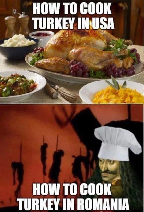 Кулинария:) Игра слов, Картинка с текстом, Индейка, Турки, Кулинария, Черный юмор