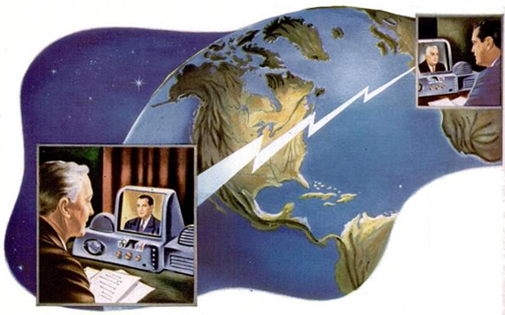 Реклама виски предсказывает будущее История, Ретро, Будущее, Ретрофутуризм, Реклама, Длиннопост