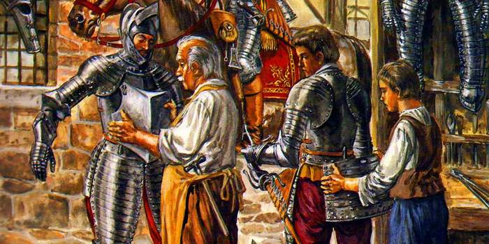 10 «школьных» заблуждений о рыцарских доспехах Длиннопост, История, Рыцарь, Война, Оружие