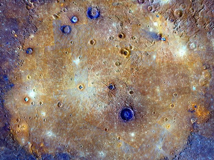 Равнина Жары - крупнейший известный ударный кратер Солнечной системы Кратер, Космос, Меркурий