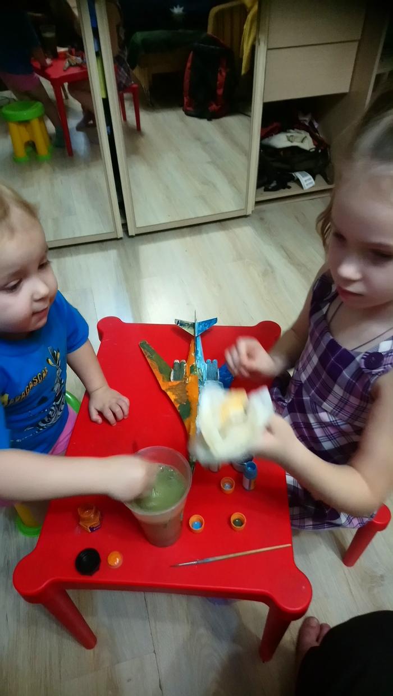 Как отвлечь детей Стендовый моделизм, Краски, Дети