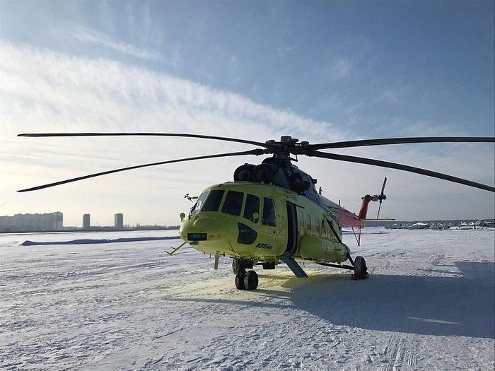 Ми-171А2 начал работать Вертолёт, Ми-8, Авиация, Новости, Из сети, Длиннопост, Ми-171а2