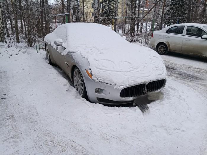 Когда бензин дорогой Авто, Снег