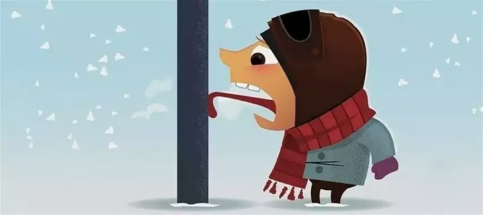 Неправильные детские площадки Детская площадка, Зима