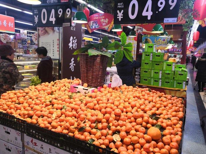 Супермаркет в центральной части Китая, часть 1: Фрукты Китай, Супермаркет, Цены, Продукты, Длиннопост