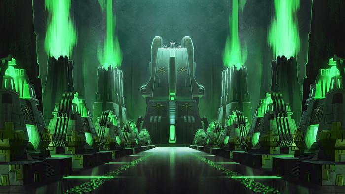 Battlefleet Gothic Armada - Necron #1 Warhammer 40k, Wh Art, Necrons, Necron Lord, Tomb World, Monolith