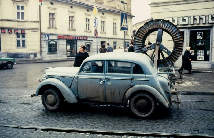 Львов 1990 год Львов, СССР, Историческое фото, 90-е, Длиннопост