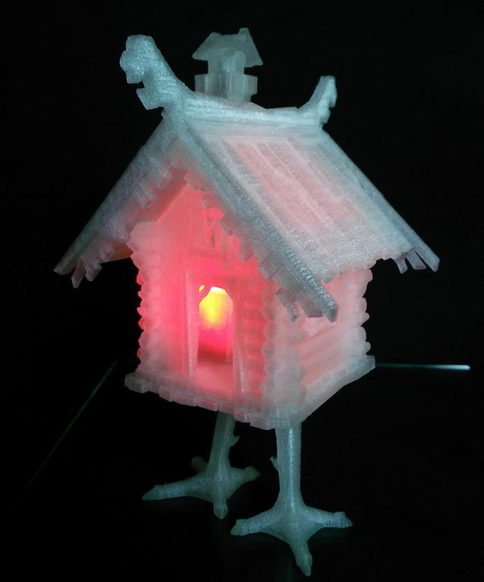 Ночной светильник 3D принтер, Светильник, Своими руками, Длиннопост