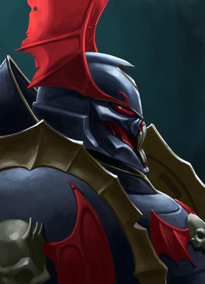 Battlefleet Gothic Armada - Chaos #2 Warhammer 40k, Wh Art, Chaos Space marines, Battlefleet Gothic: Armada, Adeptus Astartes, Длиннопост, Арт