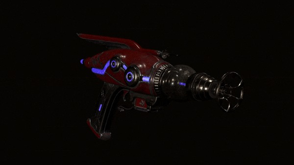 Научное оружие в The Outer Worlds Игры, Компьютерные игры, The Outer Worlds, Оружие, Гифка, Длиннопост