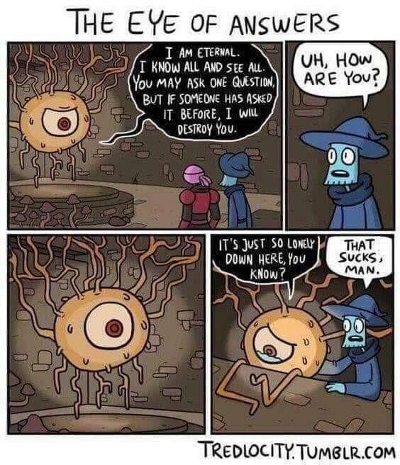 Глаз ответов Комиксы, Юмор, Reddit