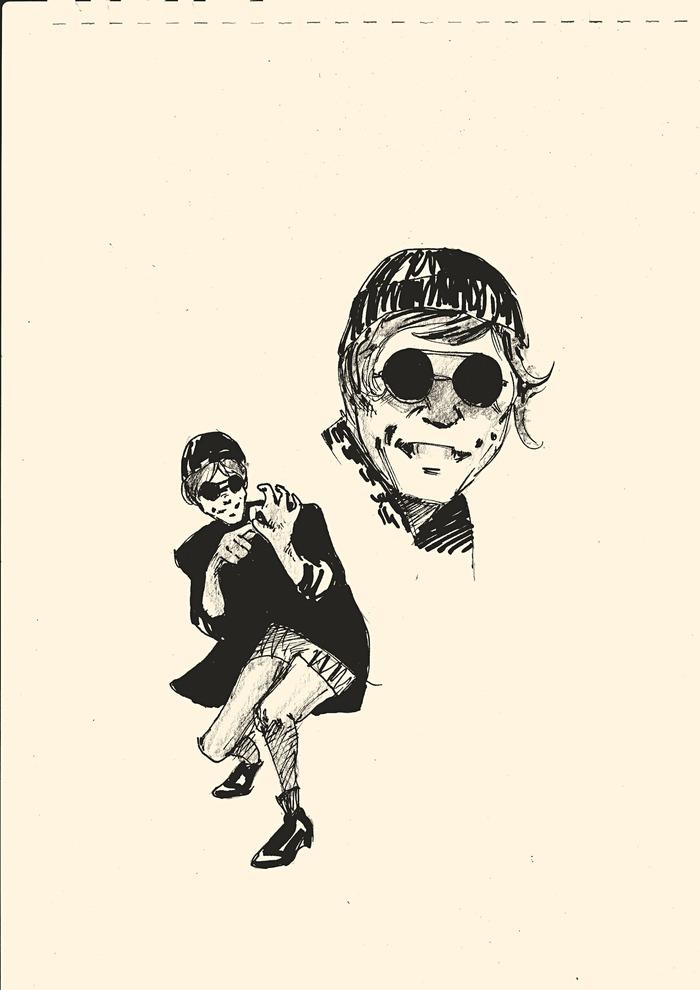 Образы Евгения BadComedian'а часть 2 Badcomedian, Арт, Рисунок, Иллюстрации, Длиннопост