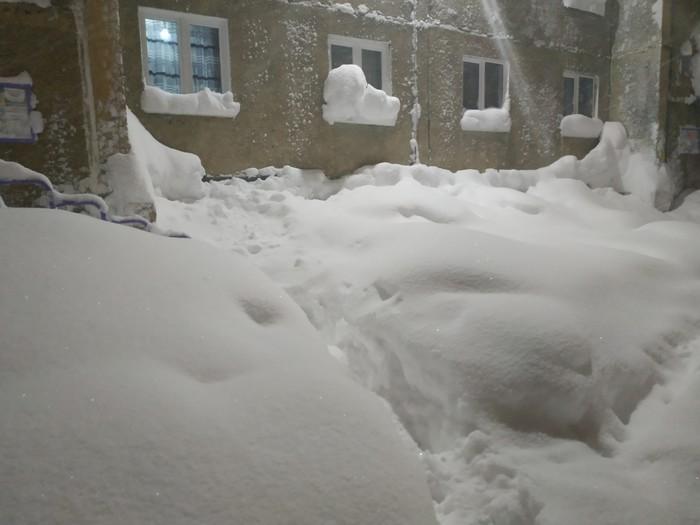 Это Норильск, детка! Норильск, Снегопад, Замело, Длиннопост, Снег