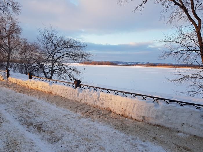 Прекрасный февраль Волга, Февраль, Длиннопост