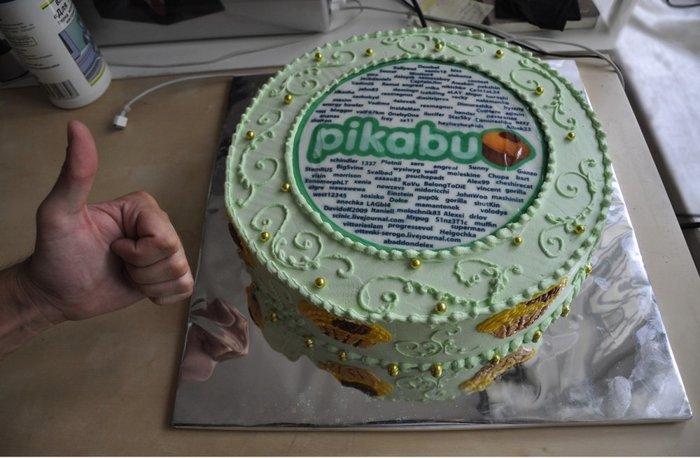 Эволюция тортиков Пикабу, Торт, День рождения, Олды тут?, Длиннопост