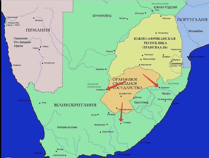 Белые господа черного континента, часть 3 История, Африка, Буры, Война, Длиннопост