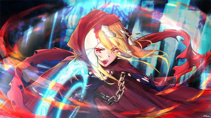 Evileye Вампиры, Аниме, Anime Art, Evileye, Overlord, Магия