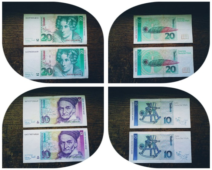 Вопрос к живущим в Германии Без рейтинга, Вопрос, Валюта, Деньги, Германия, Марки, Евро, Обмен валюты, Длиннопост