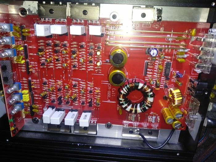 Шумы в усилителе CA 800.4 Усилитель звука, Шум, Наводка