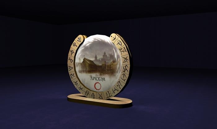 Подставка для жетонов врат игры Древний Ужас Настольные игры, Ужас, Говард Филлипс Лавкрафт