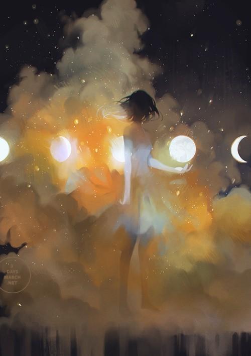 Художник Jan Qin Weng Арт, Рисунок, Подборка, Длиннопост