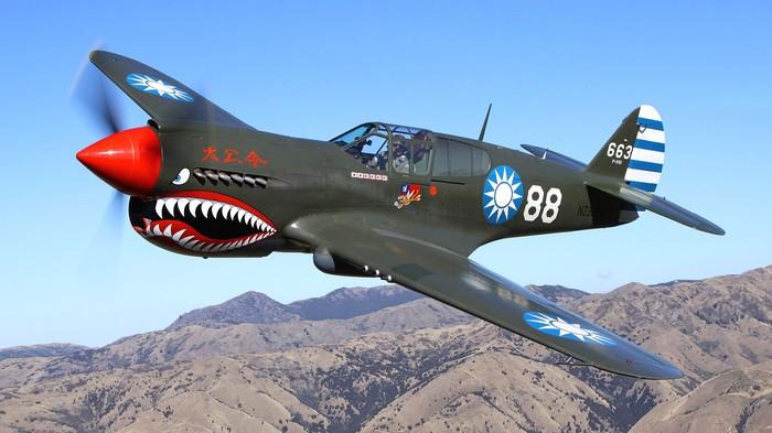 """""""Летающие тигры"""" Шеннолта.Р-40 в Китае. Вторая мировая война, Китай, Летающие тигры, Длиннопост"""