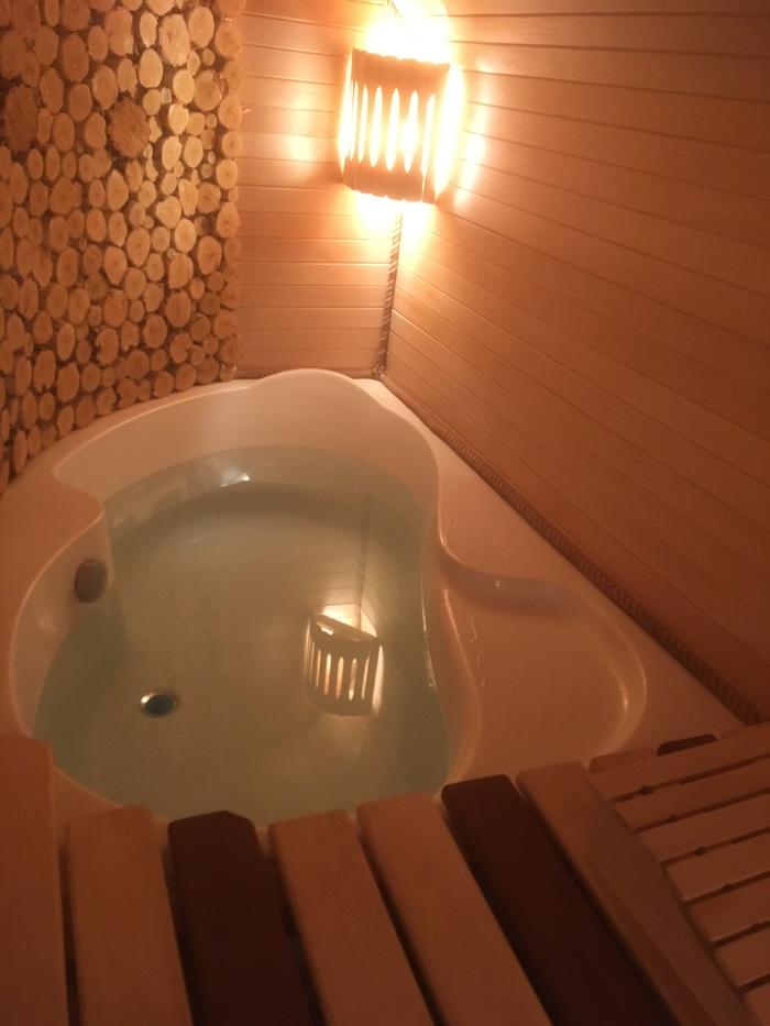 Ванна в бане Длиннопост, Баня, Ванна