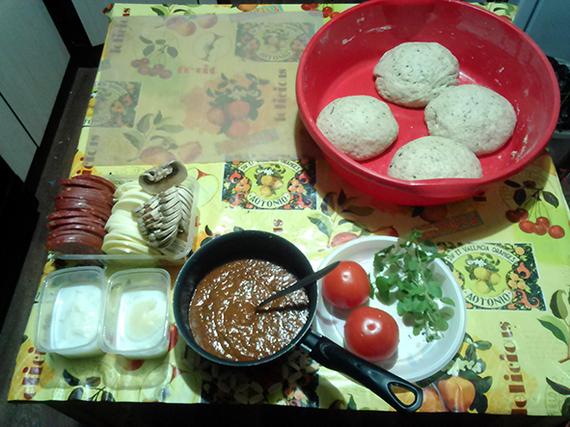 Пицца-пати с картинками(возможны матюки... или нет) Мужская кулинария, Мат, Кулинария, Длиннопост, Мужчина на кухне