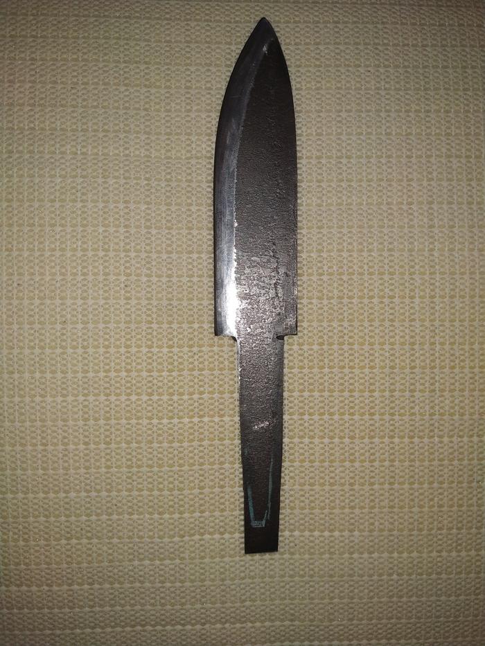 Нож самодельный из Быстрореза 2.0 Нож, Самоделки, Ножеделие, Видео, Длиннопост