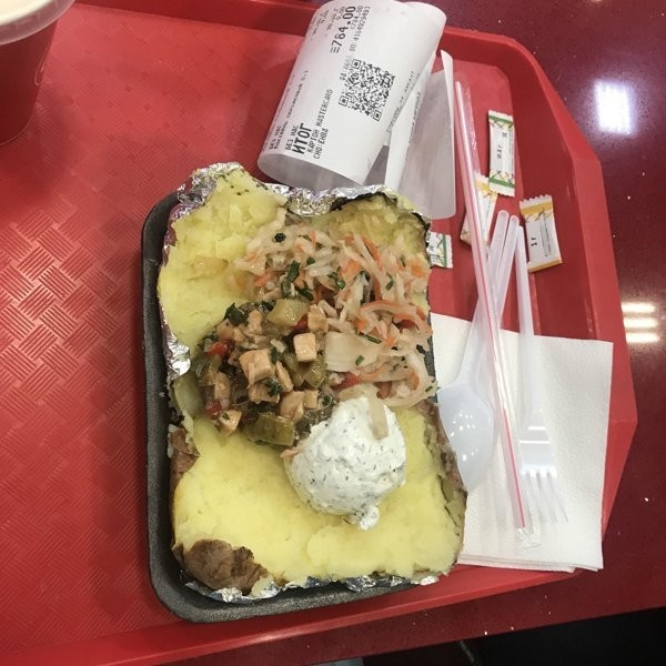 Крошка картошка! Крошка-Картошка, Фастфуд, Длиннопост