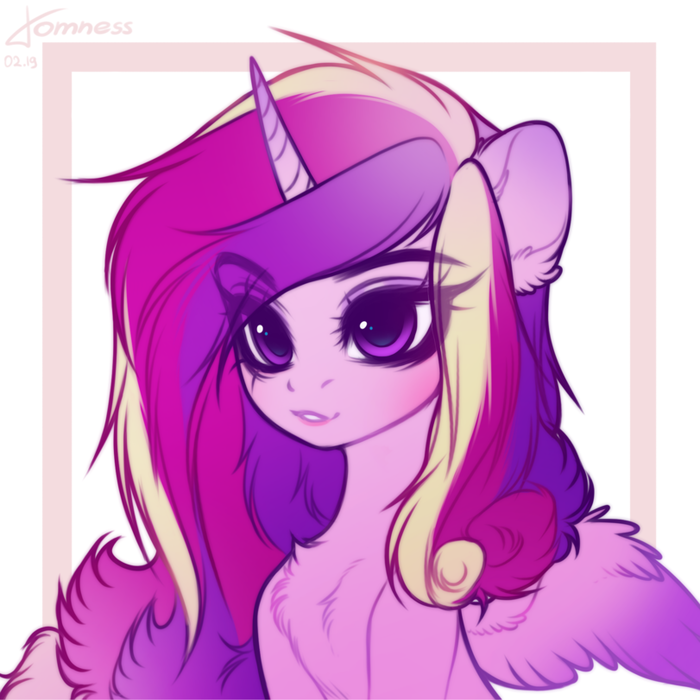 Принцесса Кейденс My Little Pony, Princess Cadance, Ponyart, Comelytomcake