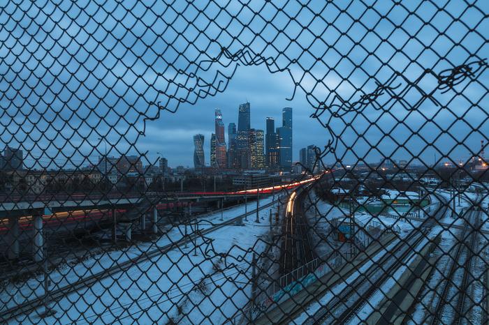 Москва-Сити Москва, Москва-Сити, Фотография, Урбанфото, Зима, Россия, Canon