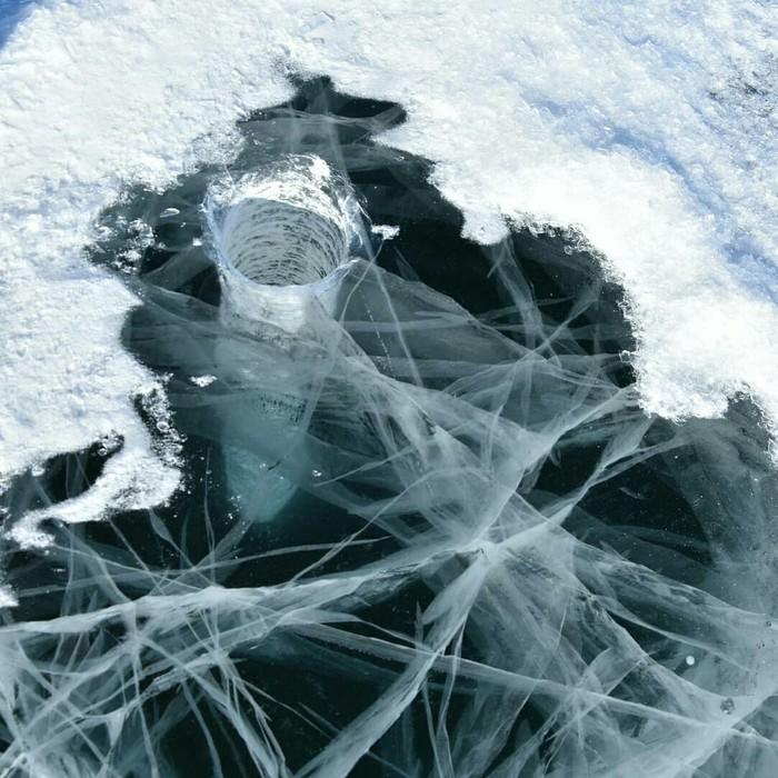 Рыбалка зимняя, лёд как стёклышко Рыба, Зима холода, Путешествие по России, Ледниковый период, Снег, Длиннопост