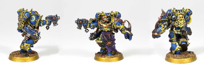 Thousand Sons Chosen Warhammer 40k, Wh miniatures, Хаос, Tzeentch, Миниатюра, Роспись, Хобби