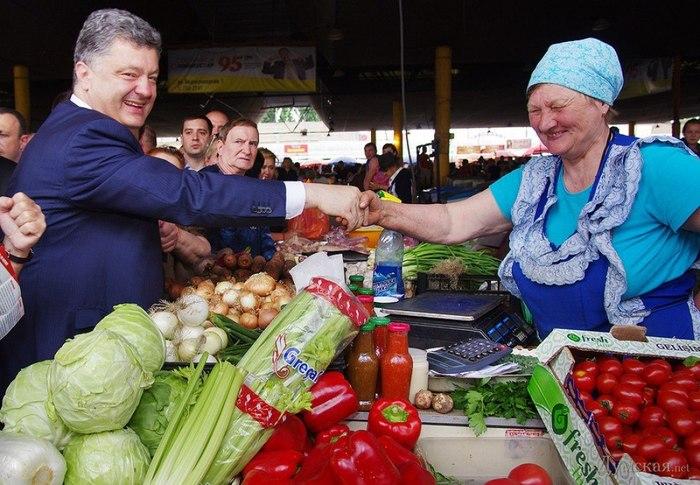 Порошенко на Привозе. Одесса, Украина, Политика, Петр Порошенко, Шпион, Длиннопост