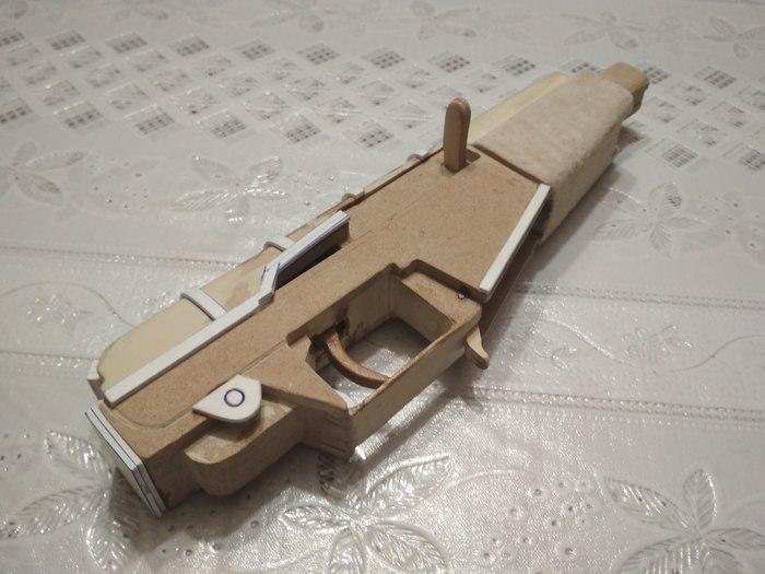 Делаю новые макеты АС Вала и Винтореза Оружие, Своими руками, Рукоделие с процессом, Длиннопост