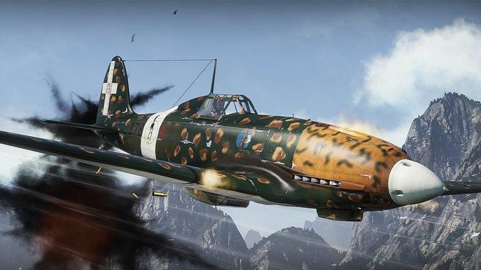 Macchi MC.202 Folgore.Мессер по-итальянски. Вторая мировая война, Италия, Истребитель, Длиннопост