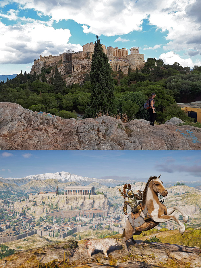 Assassin's Creed Odyssey в реальности - Афины Assassins Creed, Assassins Creed Odyssey, Длиннопост, Греция, Античность, История