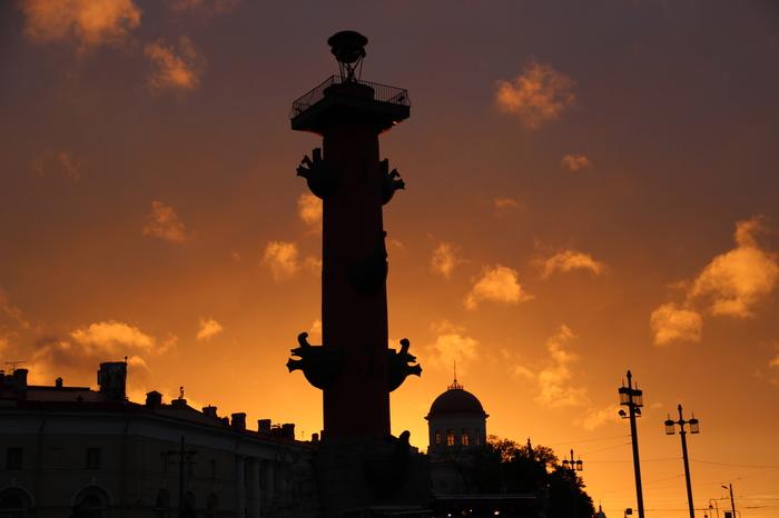 Закат на Васильевском острове Фотография, Санкт-Петербург, Васильевский Остров, Начинающий фотограф, Закат